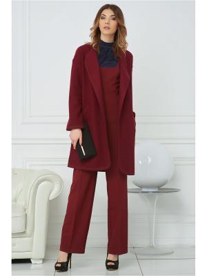 Пальто Vittoria Vicci. Цвет: бордовый