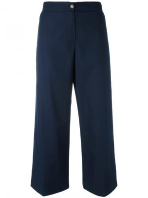 Укороченные брюки IM Isola Marras I'M. Цвет: синий