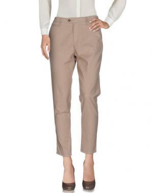 Повседневные брюки OAKS. Цвет: бежевый