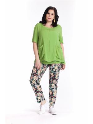 Блузка AVERI. Цвет: светло-зеленый