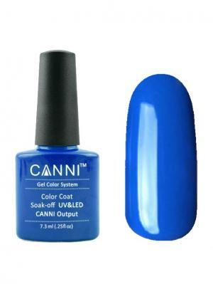 Гель лак №25 CANNI. Цвет: синий