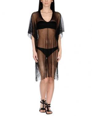 Пляжное платье FISICO. Цвет: черный