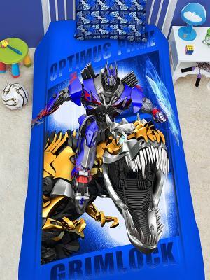 Комплект постельного белья 1,5 сп. Transformers 2014. Цвет: синий
