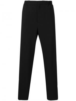 Спортивные брюки с лампасами Alexander McQueen. Цвет: чёрный