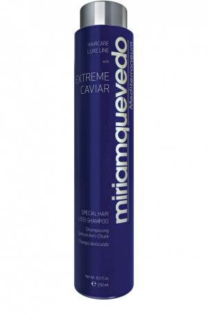 Шампунь против выпадения волос с экстрактом черной икры Miriamquevedo. Цвет: бесцветный