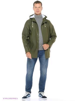 Куртка VANS. Цвет: зеленый