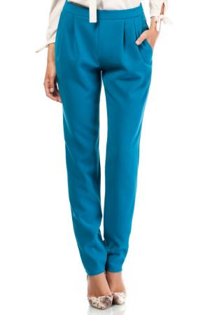 TROUSERS Moe. Цвет: turquoise