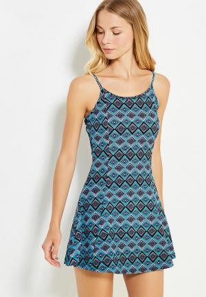 Платье Твое. Цвет: бирюзовый