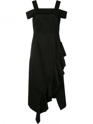 Платье шифт Robert Rodriguez. Цвет: чёрный
