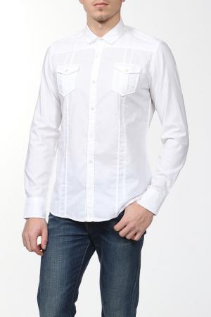 Рубашка Daniele Alessandrini. Цвет: белый