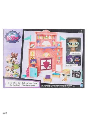 Набор дисплей для петов Littlest Pet Shop. Цвет: коралловый
