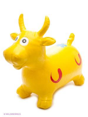 Животное- прыгун Коровка VELD-CO. Цвет: желтый