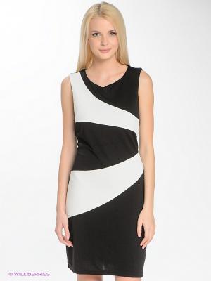 Платье Blue Seven. Цвет: черный, белый
