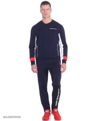 Брюки BMW MSP Track Pants Puma. Цвет: синий