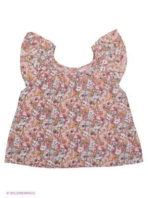 Блузка Modis. Цвет: персиковый, белый, черный, бежевый