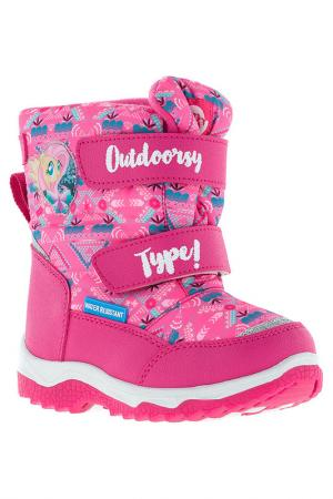 Сапожки My Little Pony. Цвет: розовый