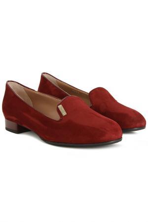 Туфли Donna Serena. Цвет: красный