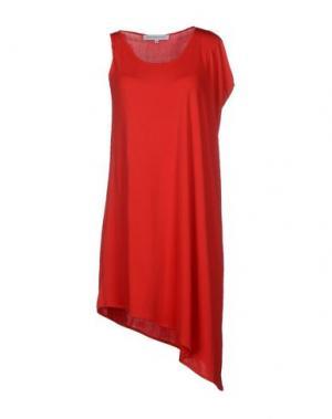 Короткое платье AMAYA ARZUAGA MAILLE. Цвет: красный