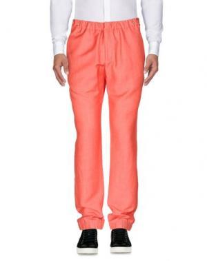Повседневные брюки GIULIANO FUJIWARA. Цвет: коралловый