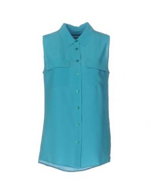 Pубашка EQUIPMENT FEMME. Цвет: зеленый