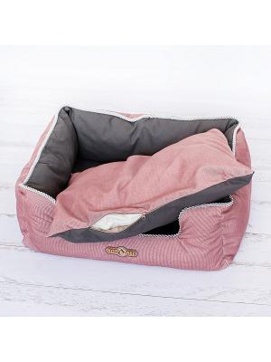 Лежак для животных КОТОПЕС. Цвет: бледно-розовый