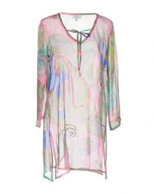 Блузка GIANMARCO VENTURI. Цвет: розовый