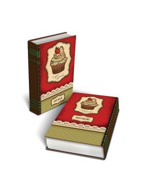 Декоративная шкатулка из МДФ Пирожное Magic Home. Цвет: красный