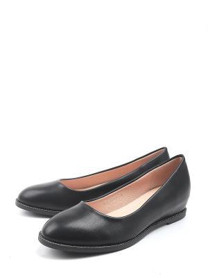 Туфли TF. Цвет: черный