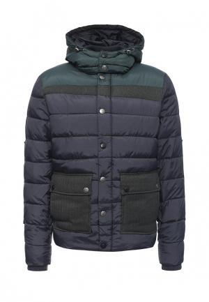 Куртка утепленная Desigual. Цвет: синий
