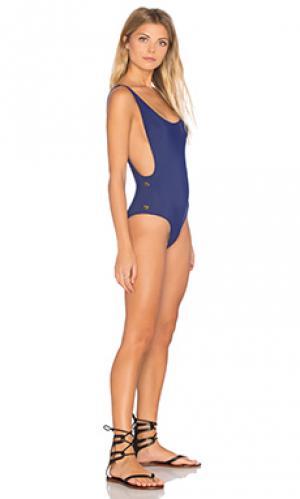 Слитный купальник karlie Thapelo. Цвет: синий