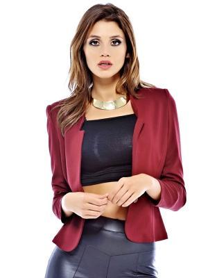 Пиджак AX Paris. Цвет: темно-бордовый