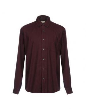 Pубашка CLUB MONACO. Цвет: красно-коричневый