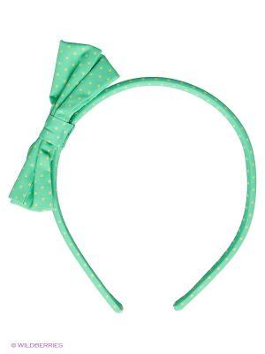 Ободок United Colors of Benetton. Цвет: зеленый