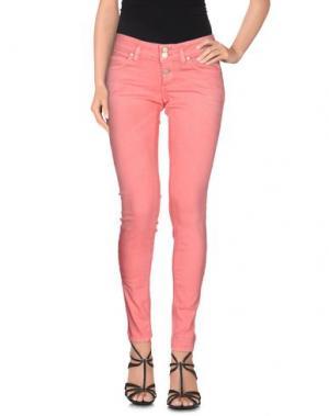 Джинсовые брюки TWENTY EASY by KAOS. Цвет: светло-фиолетовый