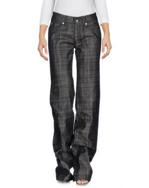 Джинсовые брюки HOGAN. Цвет: черный
