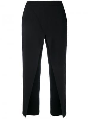 Укороченные брюки с завышенной талией Federica Tosi. Цвет: чёрный
