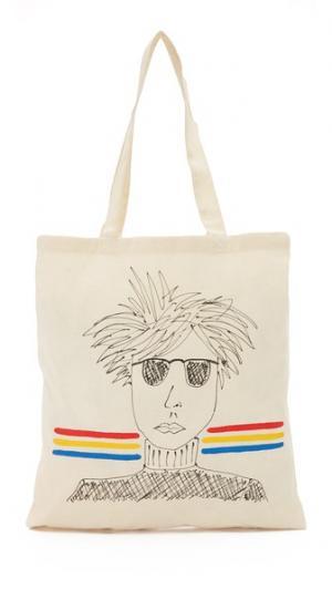 Объемная сумка с короткими ручками Warhol Zhuu