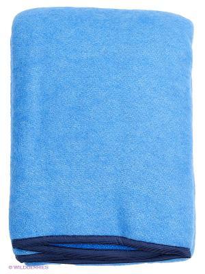 Одеяло РУНО. Цвет: синий
