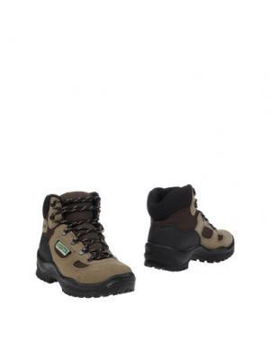 Полусапоги и высокие ботинки GRISPORT. Цвет: бежевый