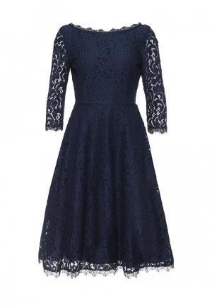 Платье Zarina. Цвет: синий