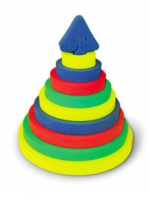 Головоломка БОМИК. Цвет: светло-зеленый, желтый, красный