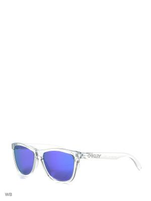 Очки солнцезащитные OAKLEY. Цвет: прозрачный
