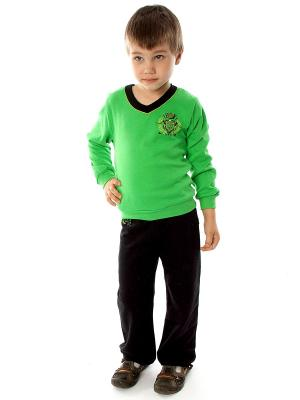 Комплект одежды для мальчика Апрель. Цвет: черный, зеленый