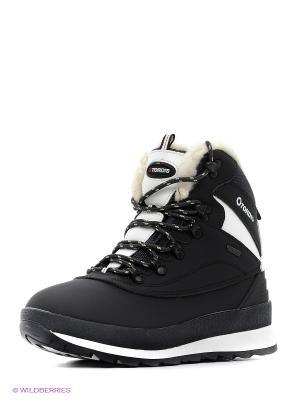 Ботинки Tordis. Цвет: серый