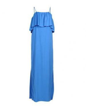 Длинное платье NAUGHTY DOG. Цвет: пастельно-синий