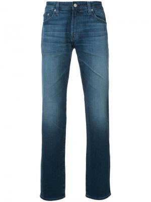 Градуированные джинсы Ag Jeans. Цвет: синий