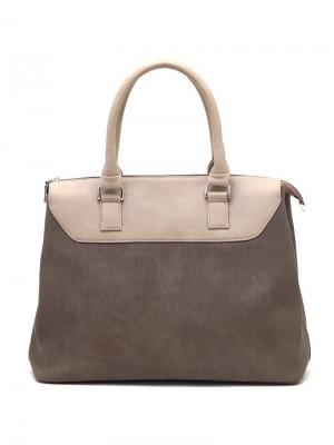 Сумка Solo true bags. Цвет: серо-коричневый