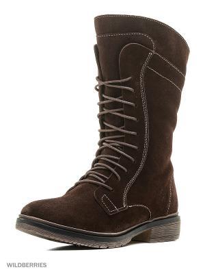 Ботинки Schtosen. Цвет: темно-коричневый