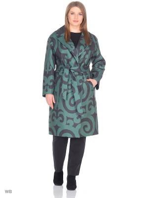 Пальто Chic de Femme. Цвет: черный, зеленый