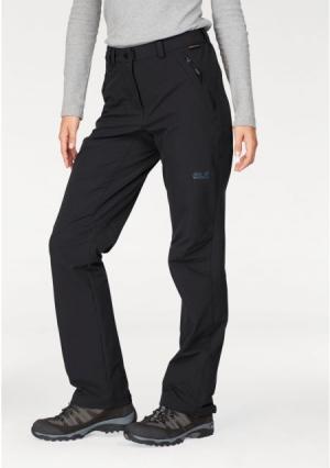 Трекинговые брюки ACTIVATE XT Jack Wolfskin. Цвет: темно-синий, черный